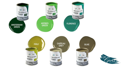 Green Chalk Paint from Annie Sloan