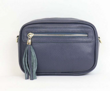 Load image into Gallery viewer, Leather Bag with Tassel - various colours - Little Gems Interiors