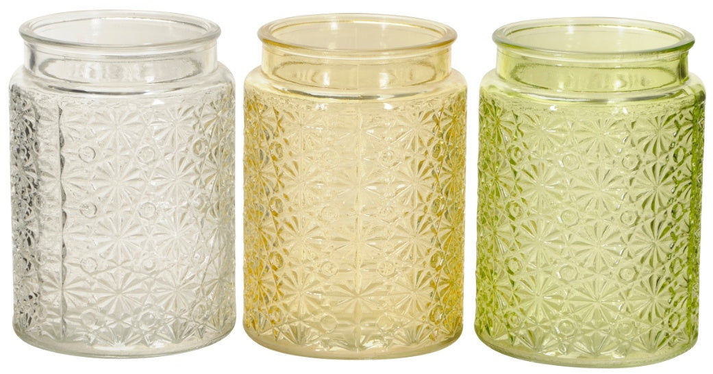 Retro cylinder Flower Vase - various colours