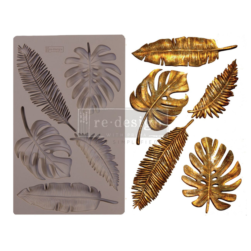 Redesign with Prima Decor Moulds - Monstera - 5