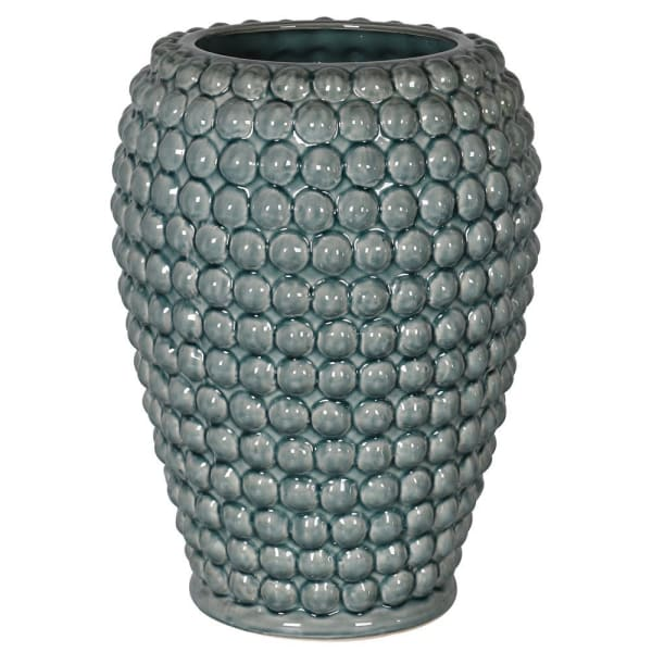 Blue/Green Bobble Vase