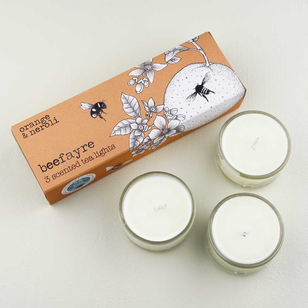 Orange and Neroli Tea Lights