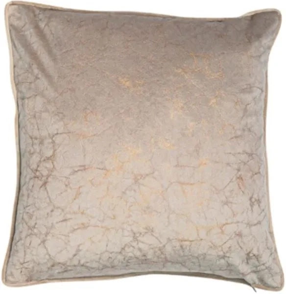 Crackle Taupe Cushion