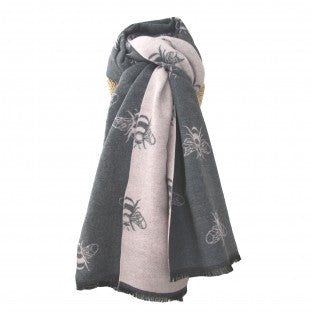 LUA Thick Bees Scarf - various colours