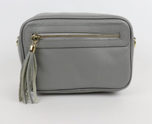 Load image into Gallery viewer, Leather Bag with Tassel - various colours