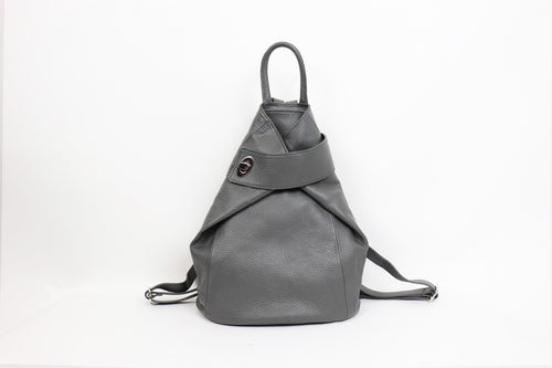 Italian Leather Back Pack - various colours - Little Gems Interiors