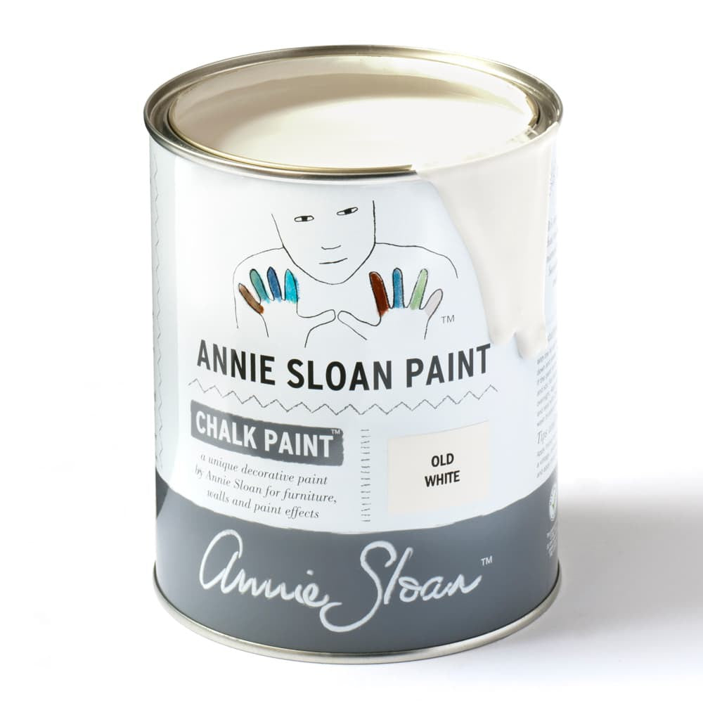 Old White Chalk Paint™ by Annie Sloan - Little Gems Interiors