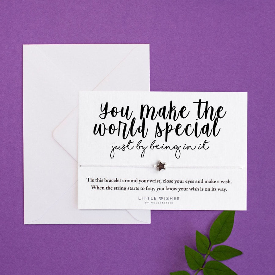 Make World Special Little Wish - Little Gems Interiors