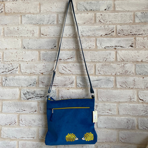 LUA Hedgehog Corduroy Large Messenger Bag - Little Gems Interiors