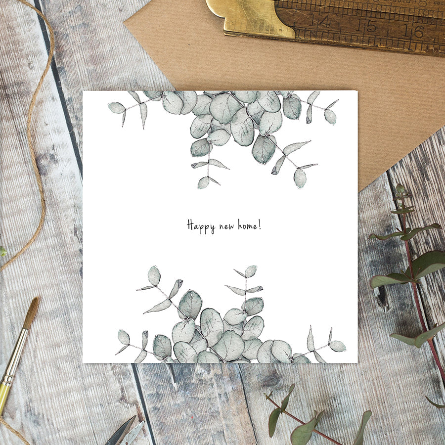 Happy New Home card - Little Gems Interiors