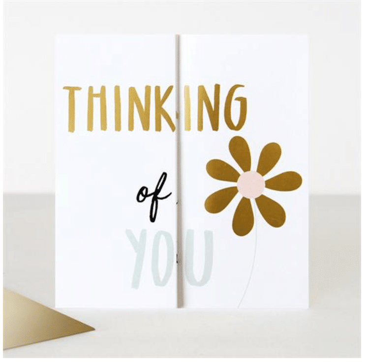 Thinking Of You Card - Little Gems Interiors
