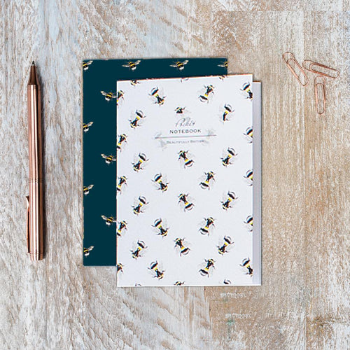 Bumblebee Duo Pocket Notebook Set - Little Gems Interiors