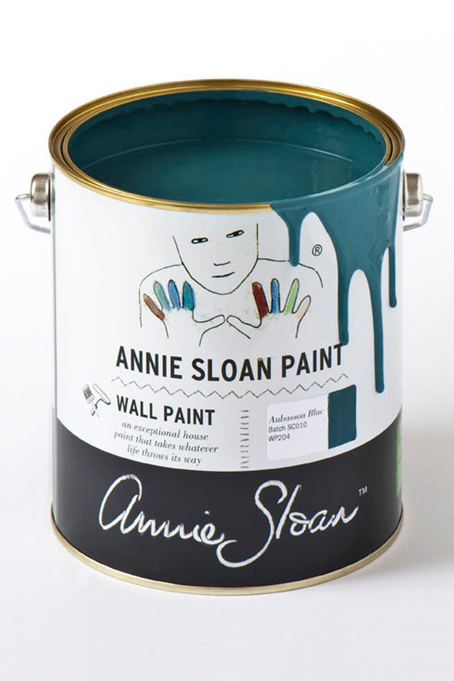 Aubusson Wall Paint by Annie Sloan - Little Gems Interiors