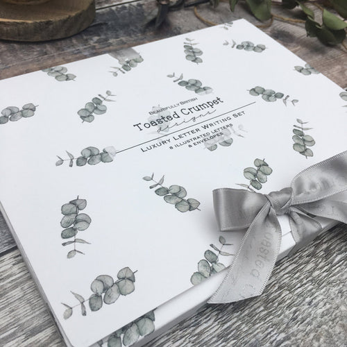 Eucalyptus Letter writing set - Little Gems Interiors