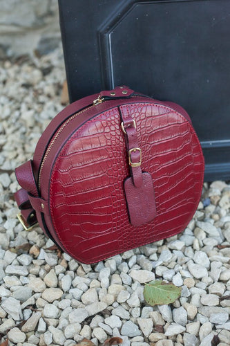 Italian Leather Handbag - Gabriella - Various Colours - Little Gems Interiors