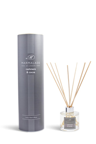 Cashmere and Cocoa Medium Reed Diffuser - Little Gems Interiors