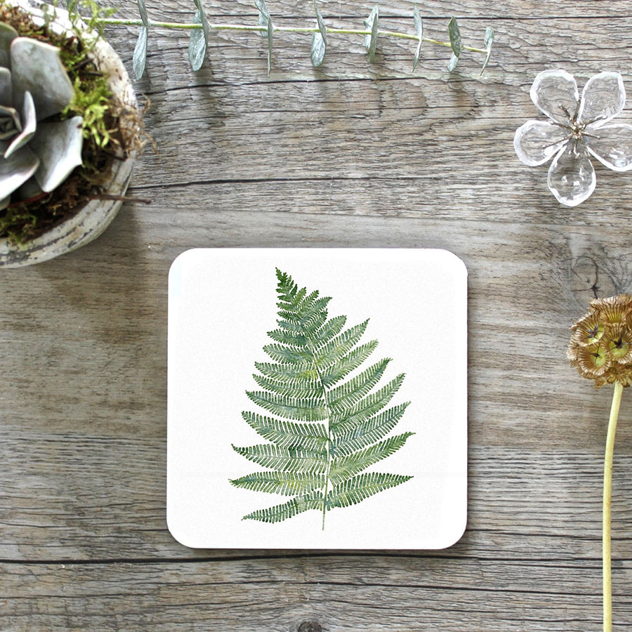 Woodland Fern Coasters