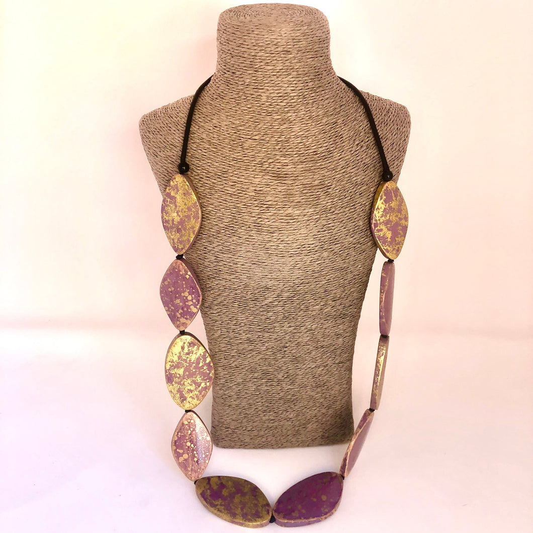 Chunky Beaded Fashion Necklace - Little Gems Interiors