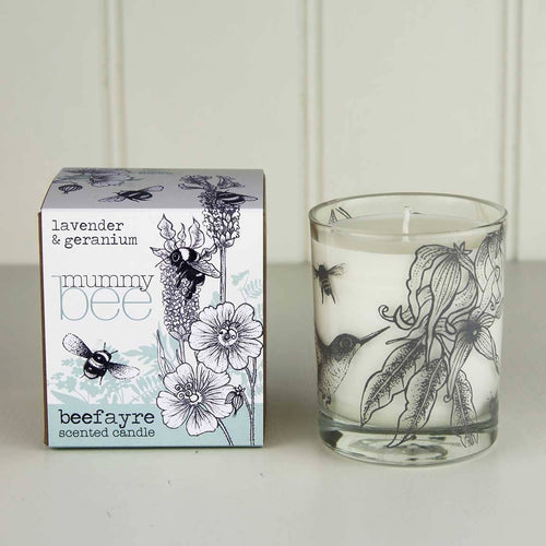 Mummy Bee Large Candle - Little Gems Interiors