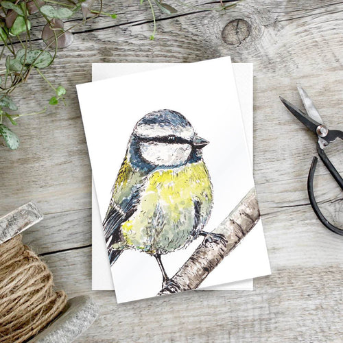 Bluetit – Set of 6 notecards - Little Gems Interiors