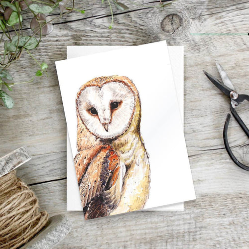 Barn owl – Set of 6 notecards - Little Gems Interiors