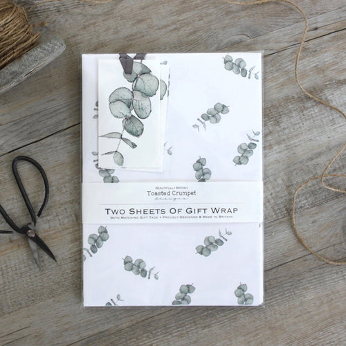 Eucalyptus – Gift Wrap Set - Little Gems Interiors