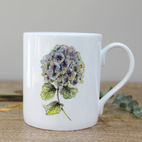 Hydrangea Mug - Little Gems Interiors