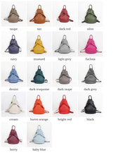 Load image into Gallery viewer, Italian Leather Back Pack - various colours - Little Gems Interiors