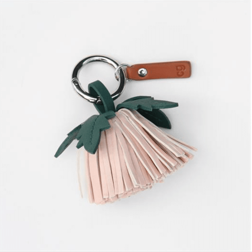 Flower Tassel Pom Bag Charm - Little Gems Interiors