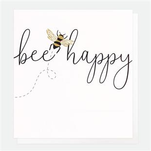 Bee Happy Card - Little Gems Interiors