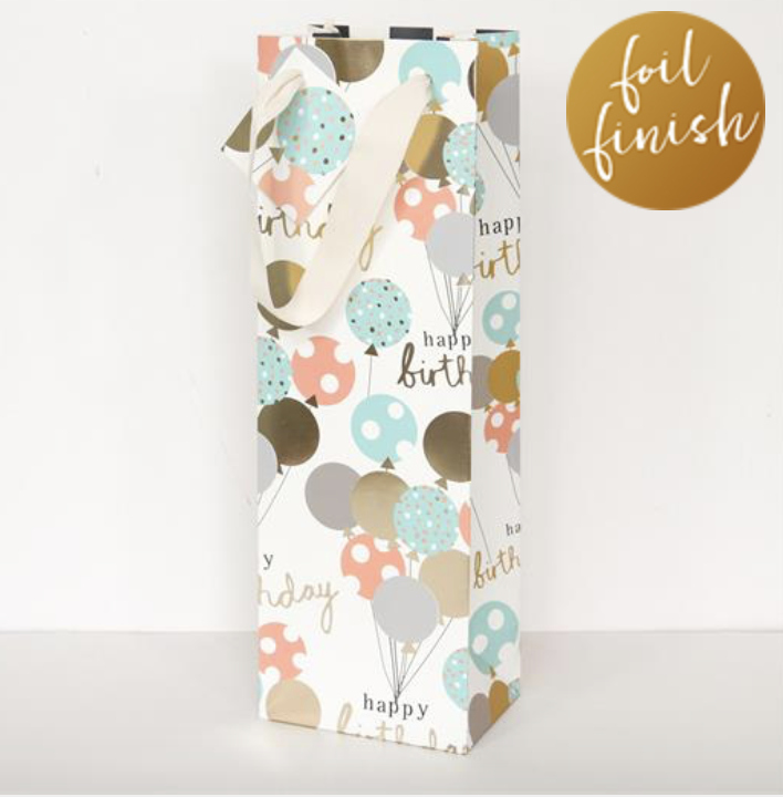 Hey Balloons Bottle Bag - Little Gems Interiors