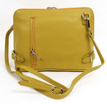 Load image into Gallery viewer, Cross over  Leather Bag - various colours