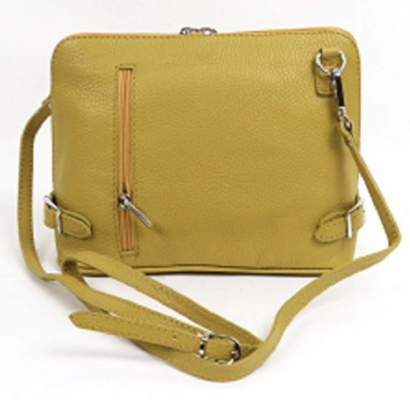 Cross over  Leather Bag - various colours - Little Gems Interiors