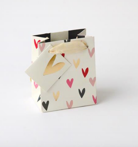 Scattered Hearts Gift Bag - Little Gems Interiors