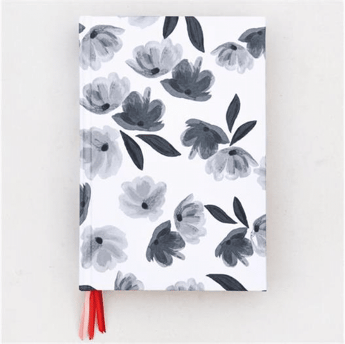 Mono Rose Tinted Multi Ribbon Notebook - Little Gems Interiors