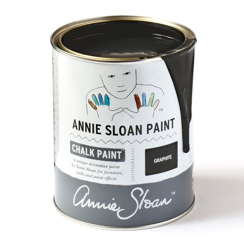 Graphite Chalk Paint™ by Annie Sloan - Little Gems Interiors