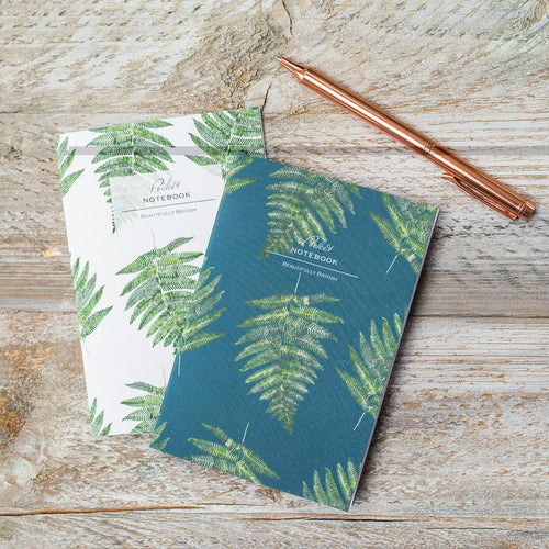 Woodland Fern Duo Pocket Notebook Set - Little Gems Interiors