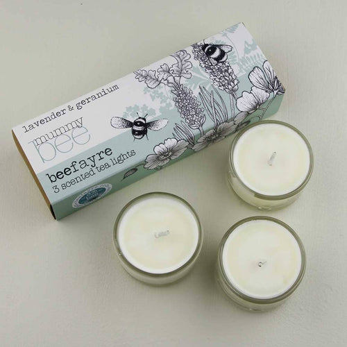 Mummy Bee Tea Lights - Little Gems Interiors