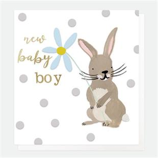 Baby Boy Rabbit - Little Gems Interiors