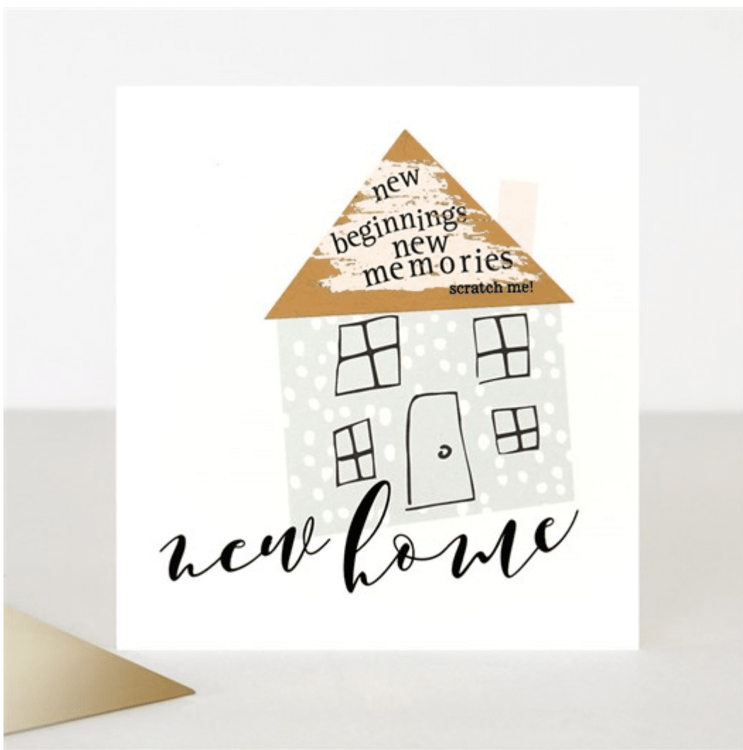Scratch New Home Card - Little Gems Interiors