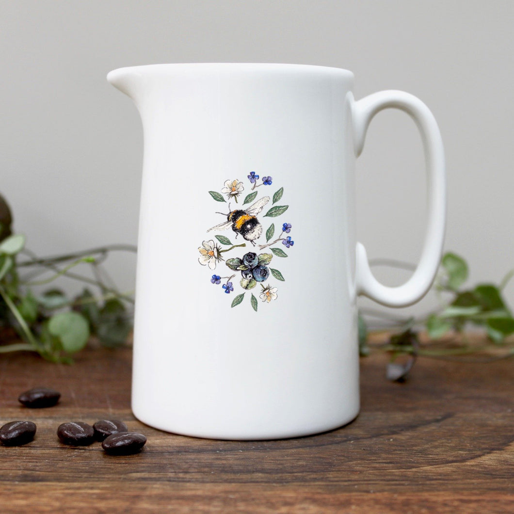 Wild Flower Meadows Bee Half Pint Jug