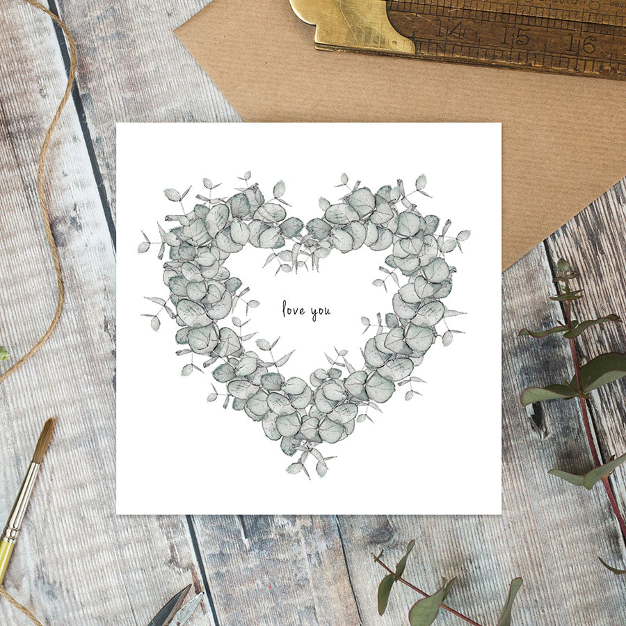 Love You Card - Little Gems Interiors
