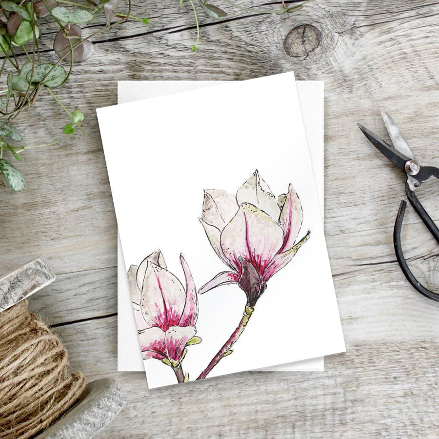 Magnolia – Set of 6 notecards - Little Gems Interiors