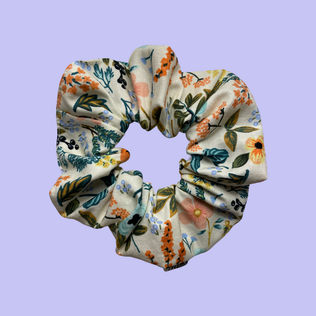 Scrunchie Herbal Crema - Mediano