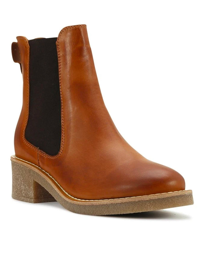 Corby Ankle Boots Brandy