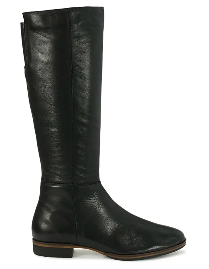 Gaetan Boots Black Leather