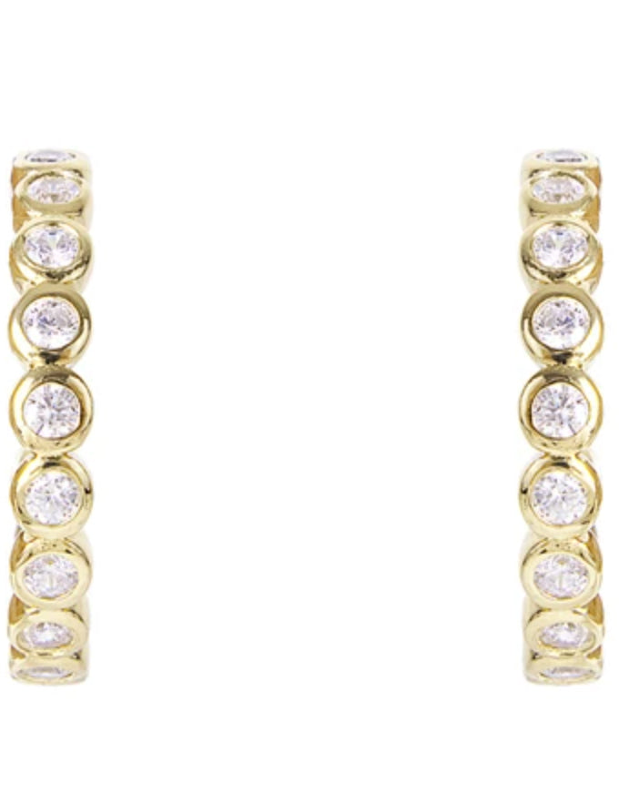 Halo Crystal Hoops