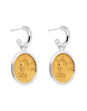 Bacchus/Pegasus Earrings