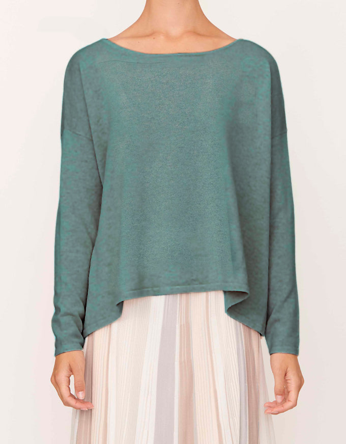 Abbey Swing Knit - Green