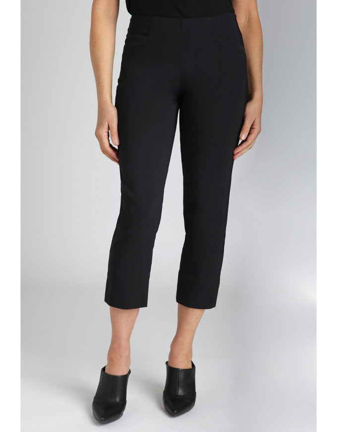 The Bella is a skinny, mid-length capri.